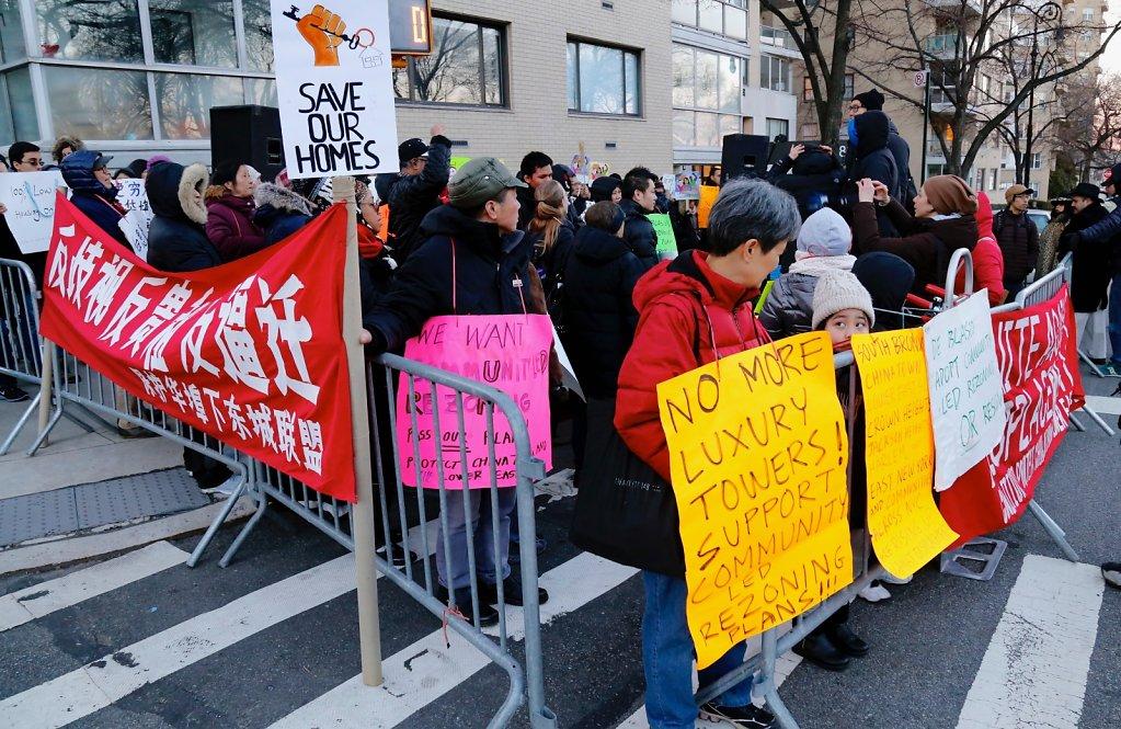 Anti-Displacement Rallies